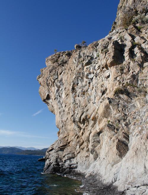 Lake Tahoe Beaches Cave Rock