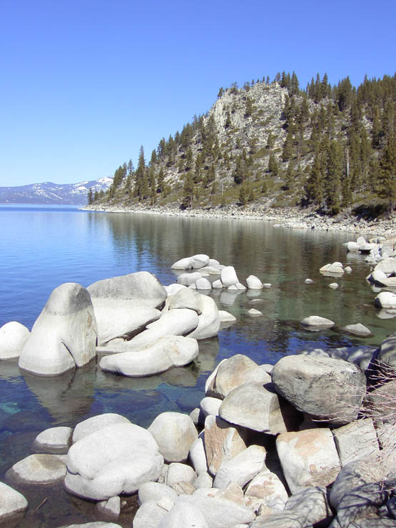 Lake Tahoe Beaches Skunk Harbor