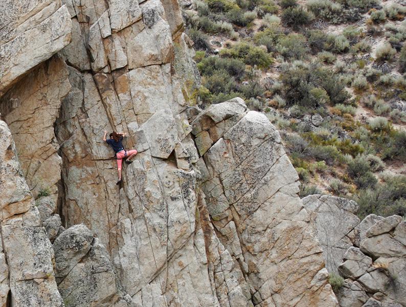 Dinosaur Rock - Lake Tahoe Rock Climbing