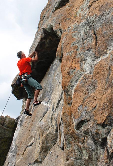 Luther Rock Lake Tahoe Rock Climbing