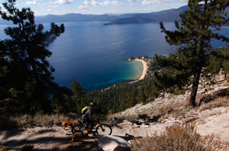 Lake Tahoe mountain biking