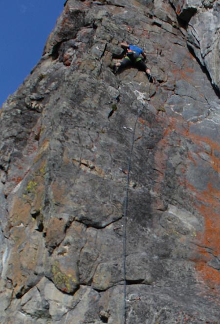 sport climbing photo