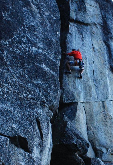 climbing at berkeley camp