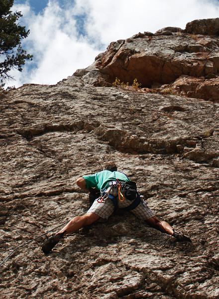 rodeo queen - rock climbing