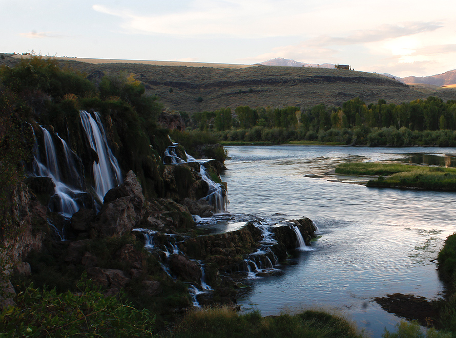 falls creek falls and the snake river