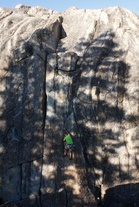 kirkwood lake climbing