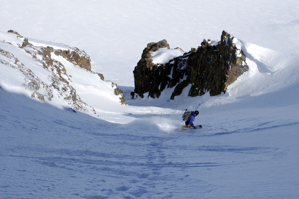 round top center couloir