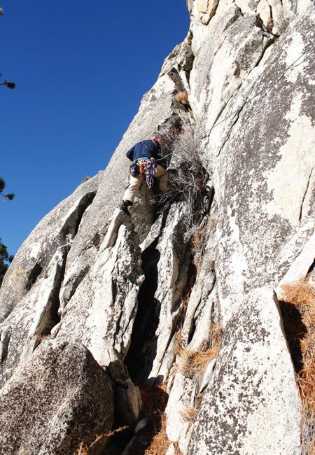 climbing skunk spire