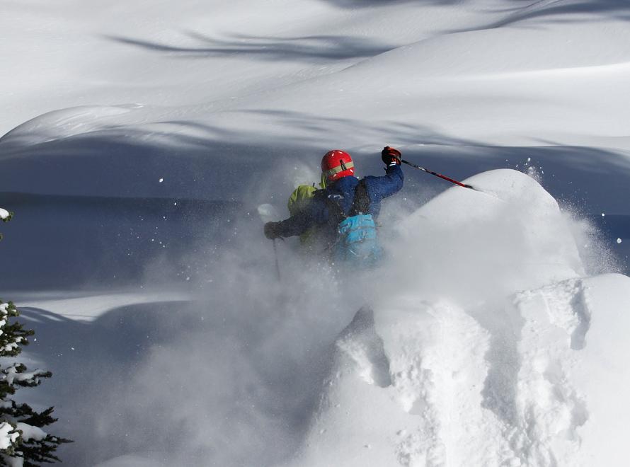 carson pass skiing